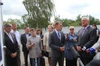 Рабочая поездка Председателя Совета Республики Национального собрания Республики Беларусь Мясниковича М.В. в Солигорский район